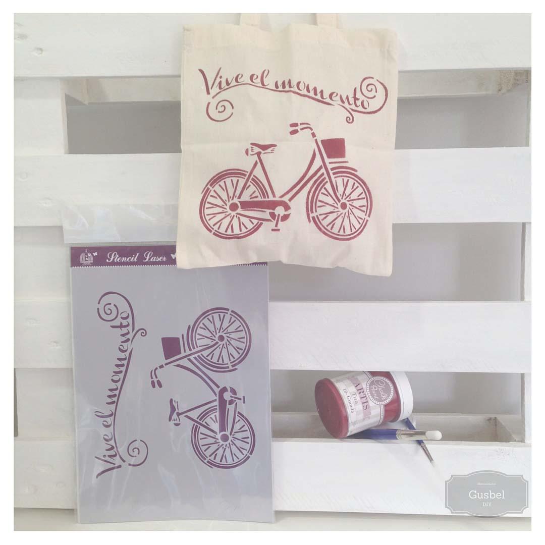 Gusbel-tela-bolsa-estarcido-bolsa-plantilla-pintura-pinceles-