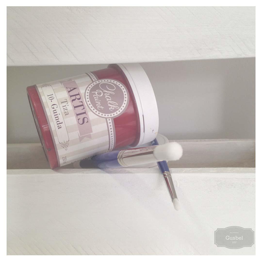 Gusbel-tela-bolsa-estarcido-pintura-pinceles-detalle-