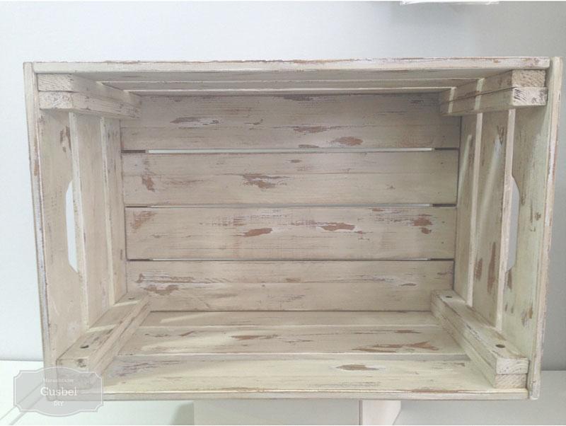 Decorar caja de madera estilo industrial gusbel - Manualidades con caja de madera ...