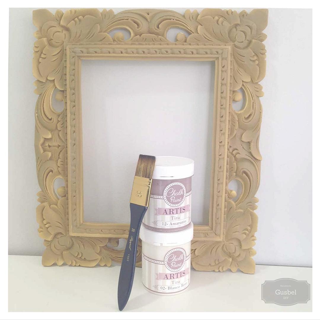 Personalizando marco de resina gusbel manualidades y for Marcos para pinturas