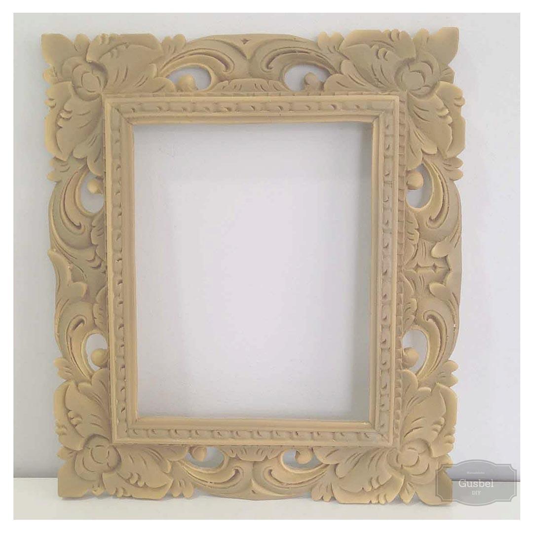 Personalizando marco de resina gusbel manualidades y - Marcos de papel para fotos ...